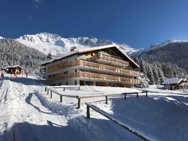 Ski-in-ski-out in Verbier, Le Rouge - Verbier - Flat