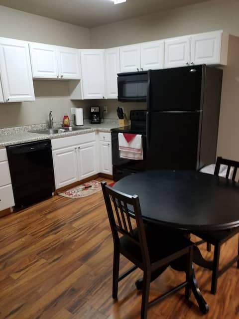 Furnished and cozy studio apartment in Beulah, ND!