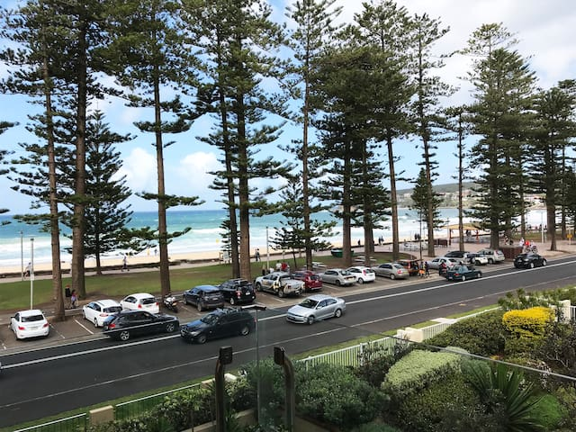 Designer apartment on Manly beach!
