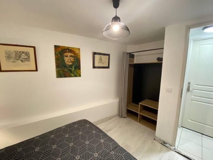 Bel appartement 90 m2 avec gd jardin et terrasse