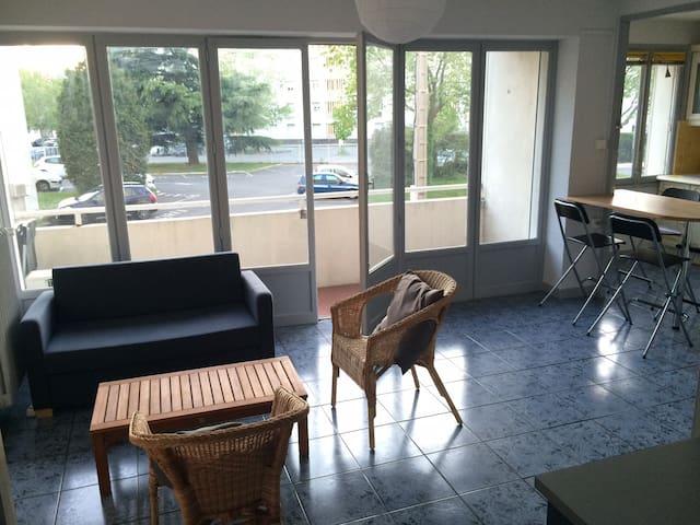 charmant  T1 36m2 balcon climatisé - Valence - Appartement en résidence