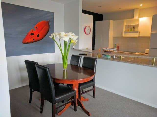 Large city apartment & parking - Auckland - Pis