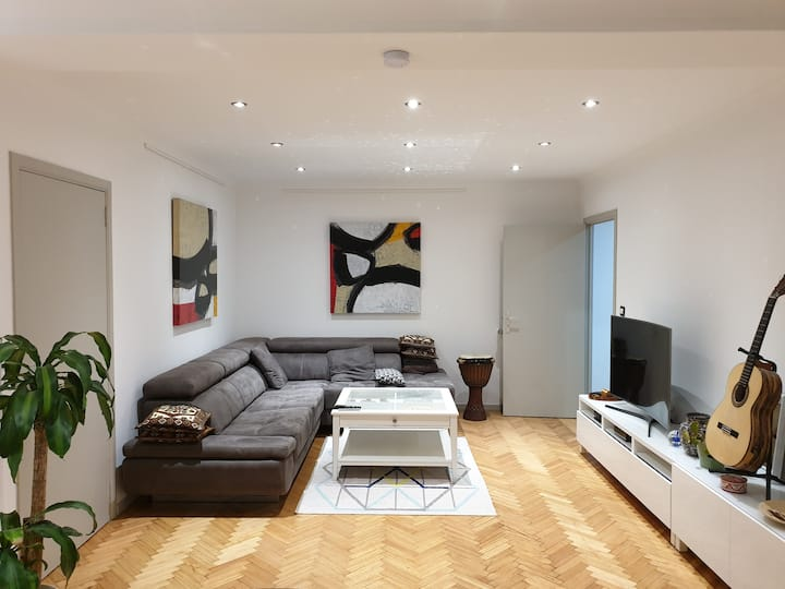 Beautiful Apartment & calm & renovated + parking
