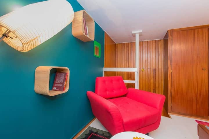 Studio Centre Pompidou - Duplex Scandinave