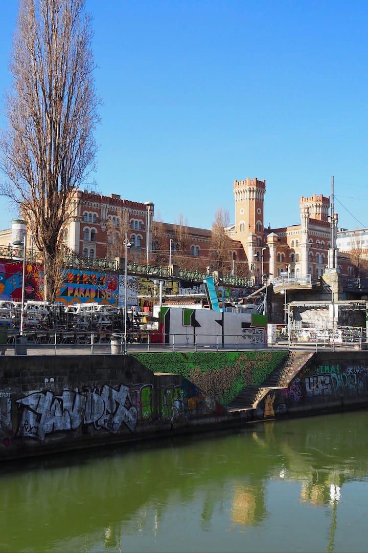 the longest street art gallery in Europe