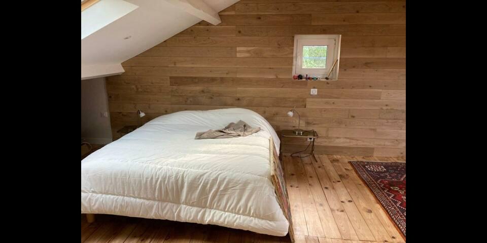 Chambre dans petite maison Bordeaux Bastide