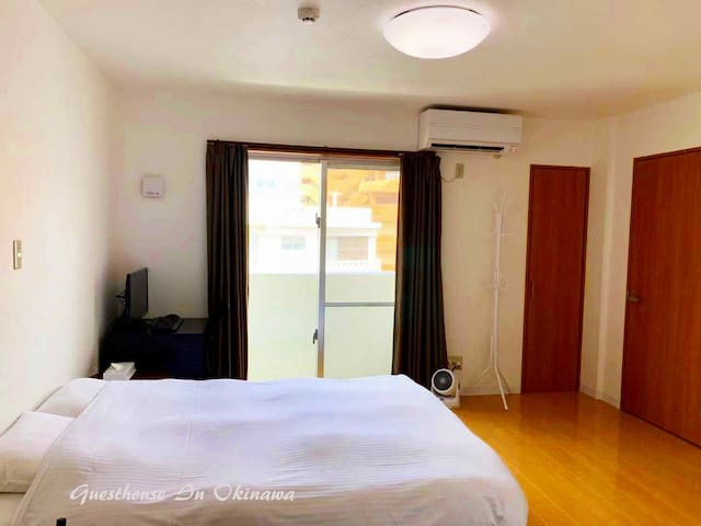 Newly opened in downtown Naha!   Double rm