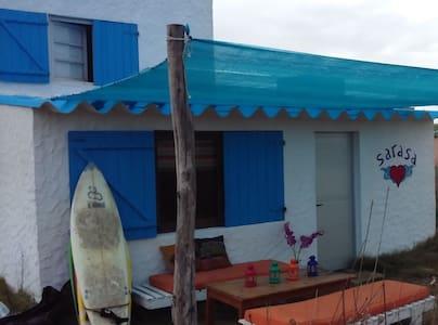 Casa en Cabo Polonio frente al mar. - Cabo Polonio - Hus