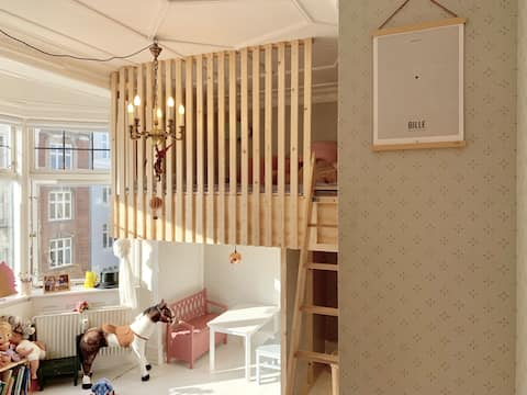 Hip and child-friendly in the middle of Vesterbro