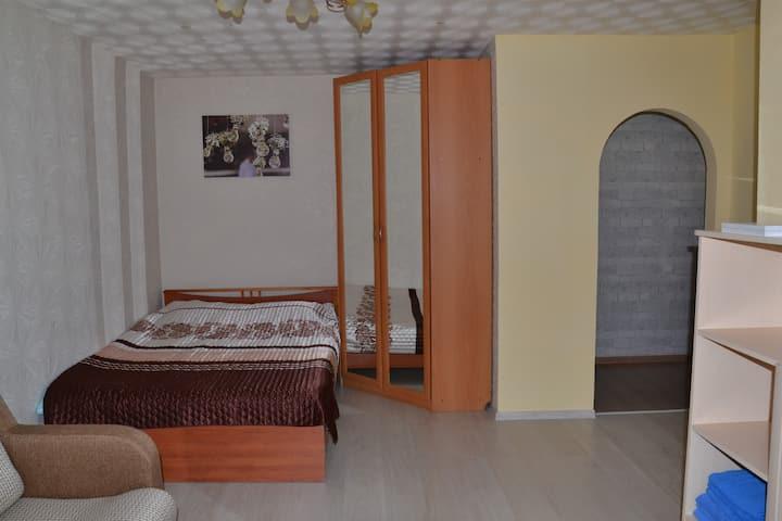 Однокомнатная квартира в центре Пскова