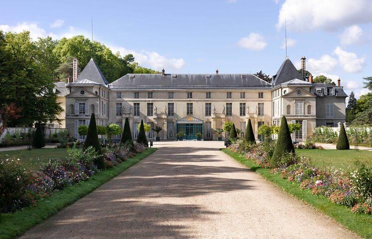 Villa au cœur du parc de la Malmaison