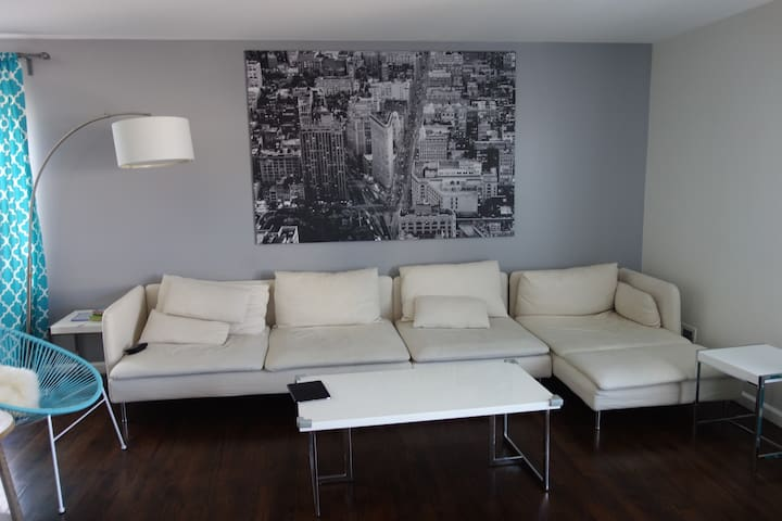 Cozy Apartment close to NYC and Newark Airport - Elizabeth - Byt