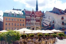 Doma Square/Doma Laukums is just 300m from our house