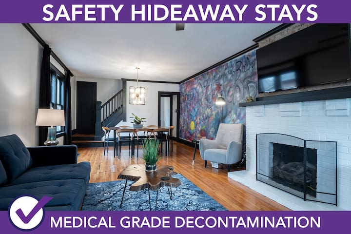 Safety Hideaway - Medical Grade Clean Home 15