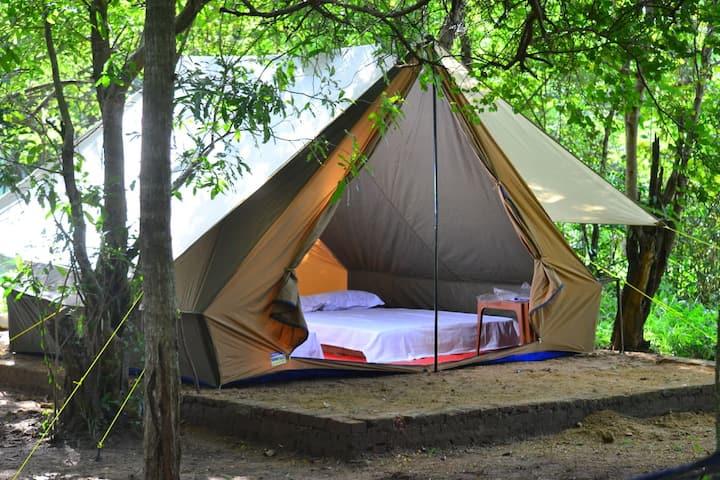 Kaudulla Camping by Eternal Traveller