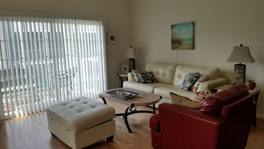 Convenient Blue Townhouse at Rehoboth Crossing