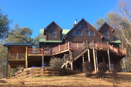 TOTALLY Private 5BR Luxury Lodge w/Stunning Views - Ellijay