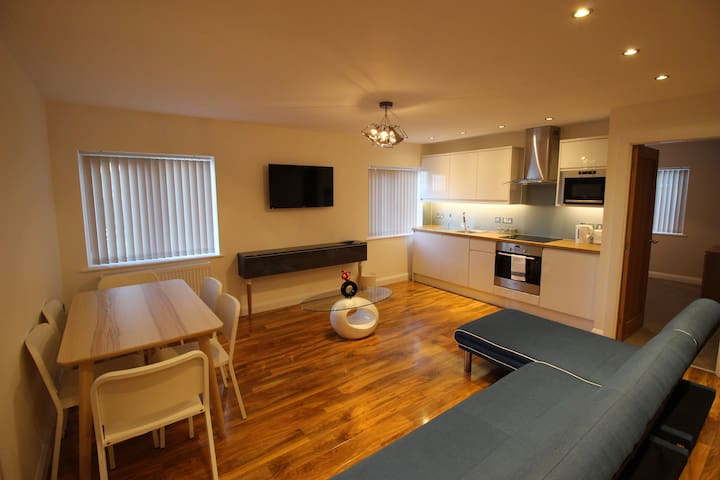 Y3 Apartments, Glevum Suite - Gloucester - Apartment