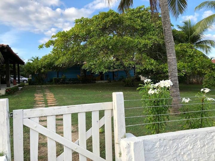 Cozy Tropical Beach House in Safe Environment Jauá