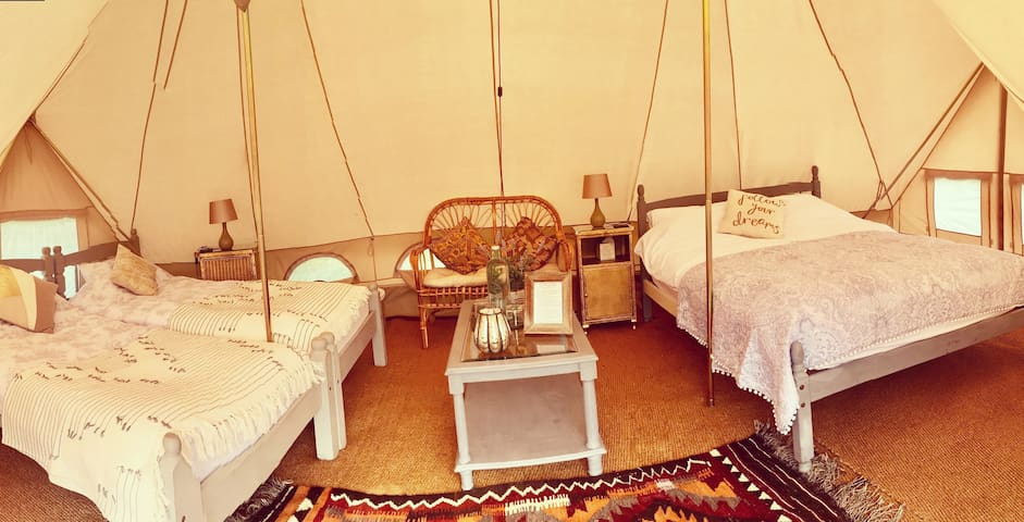 'Campion' Luxury Glamping at Preston Court