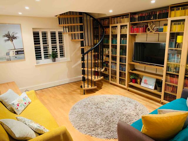 Spacious but cosy living area