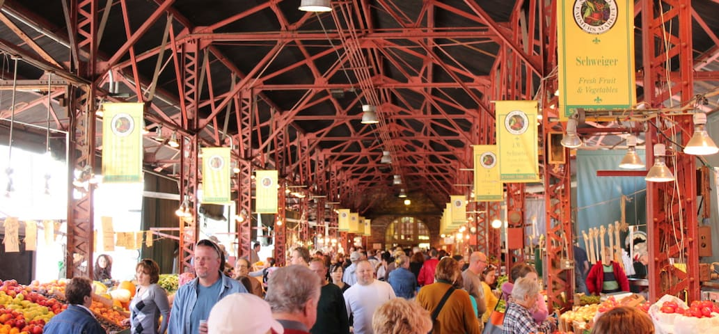 Soulard Farmer's Market - Walking distance (1 mile)