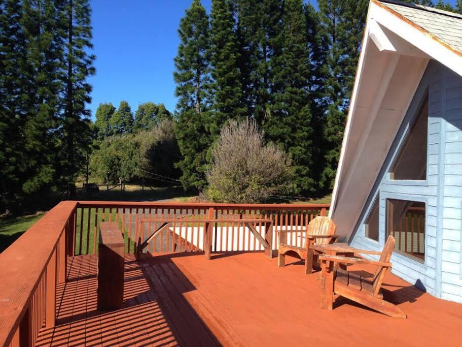 1600 square feet of decks!