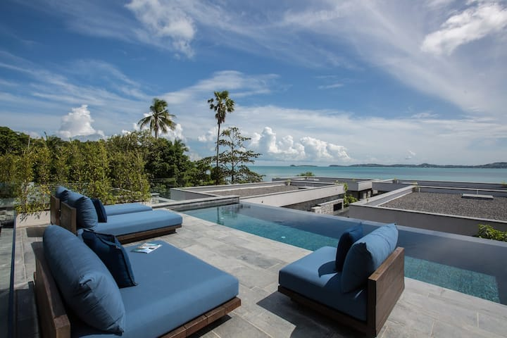 Clay Beach Samui – V1 Duplex lofts – 2Br Seaview