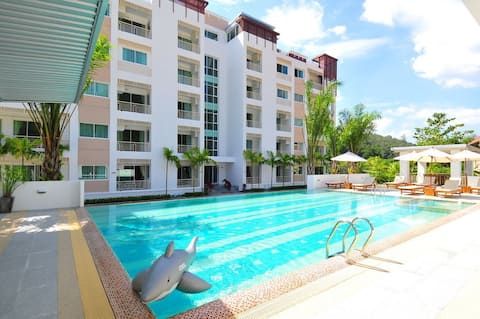 Modern 1 bedroom apart, 5 min to Kamala beach