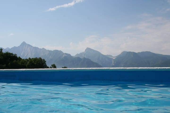 Sunny stone cottage pool sleep 10 - Fivizzano - Talo