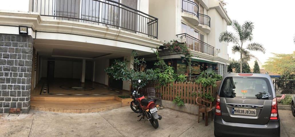3BHK HLC Park - Lonavala - Lägenhet