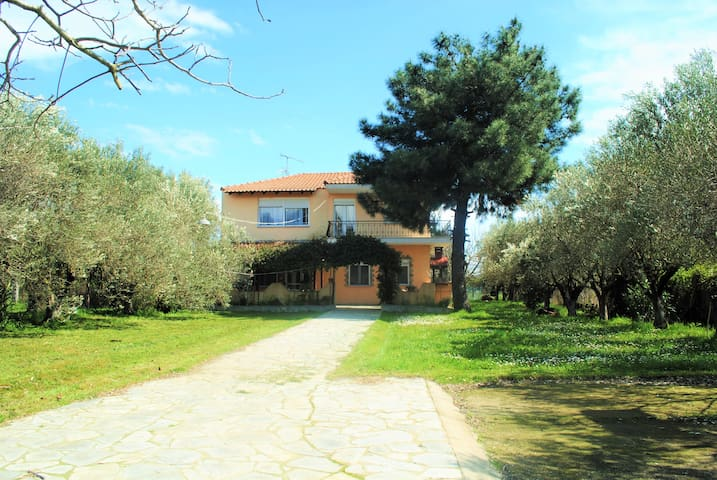 Private villa 500m from the beach!! - Σταυρός - 別荘