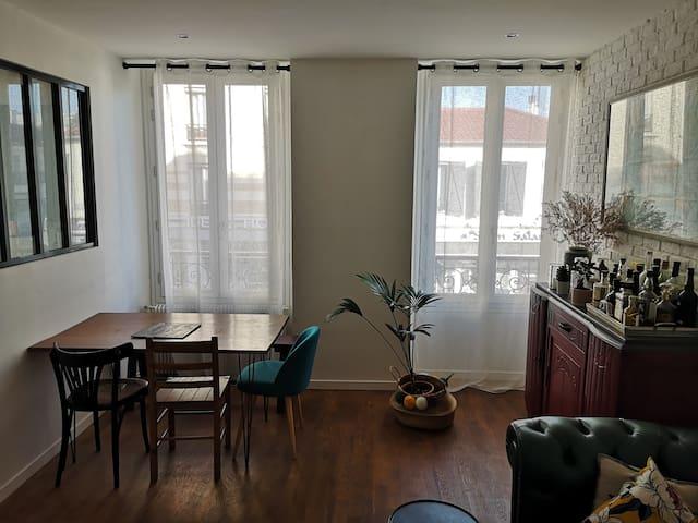 L'appartement moderne d'Astrid et Jonathan