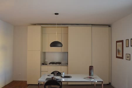 Bright and spacious three room flat - Piacenza