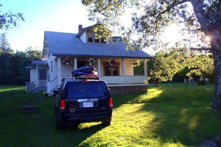 Nova Scotia Beach House Near Surf, Art, Vineyards - Petite Riviere Bridge