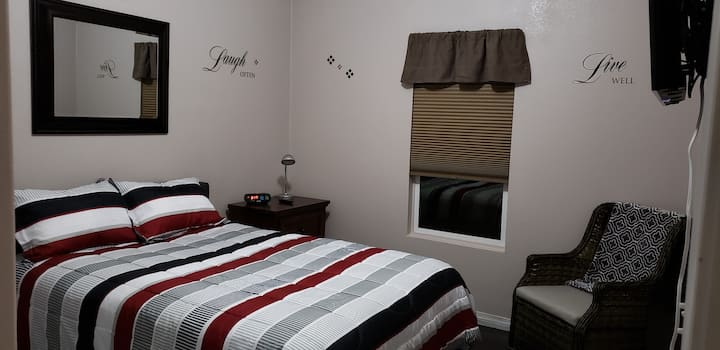 Private Room #2 with Queen Size Bed! (Shared Bath)