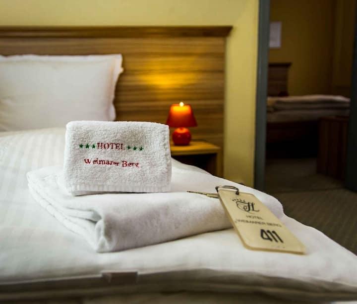 Hotel Weimarer Berg (Apolda) - LOH07520 Neu, Einzelzimmer mit Bad/WC