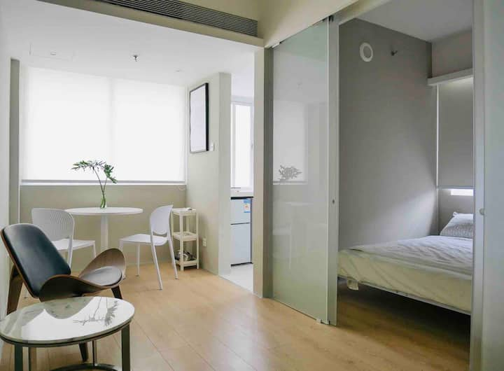 STUDIO 604, 近科技园,桃园地铁口,设计师的独立小公寓。老房改造,体验不一样的深圳文化。