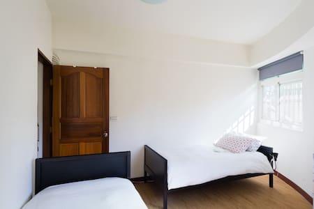 好睏新竹bnb雙床雅房(竹中火車站旁) 2Single Beds含早餐 - 新竹縣 - Bed & Breakfast