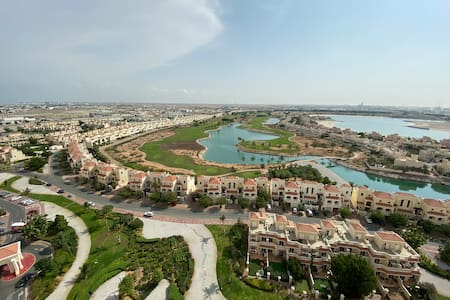 Relaxing, Swimming and Golfing in Al Hamra Village