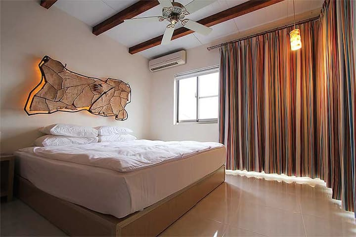 Sulfur's Home-Low Pressure East Taiwan-Ocean View - Donghe Township - Bed & Breakfast