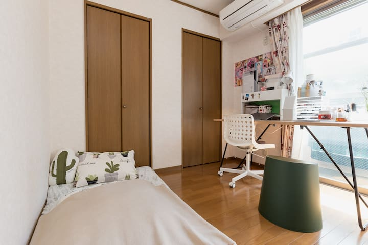 "Share room for ""girl"" only. 2 min to Meguro river. - Meguro-ku - Huoneisto"