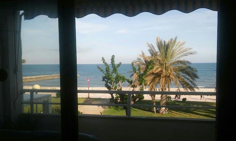 Apartamento frente al mar en Cubelles