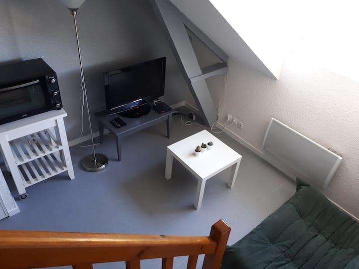 Studio duplex hyper centre de Lorient