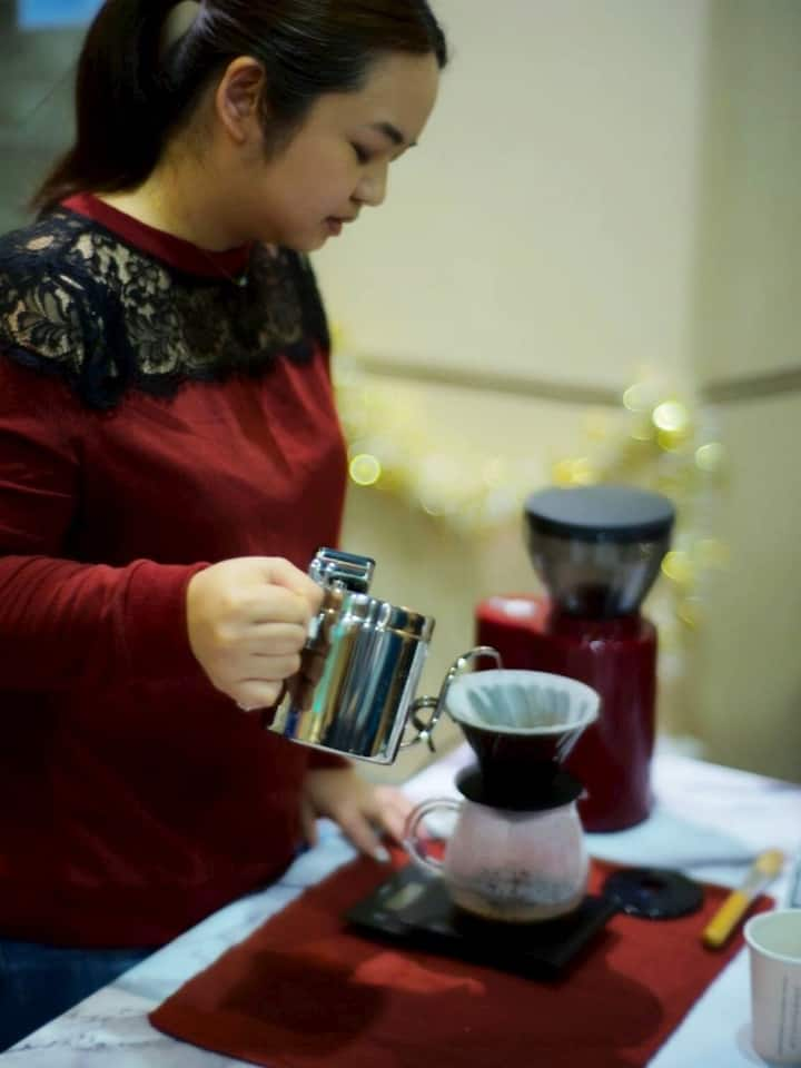 We also do coffee catering for events.