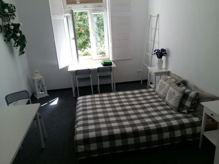 Romantic bedroom for two in Cracow