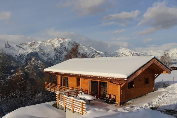 New chalet 10 P. La Tzoumaz/Verbier - Riddes - House