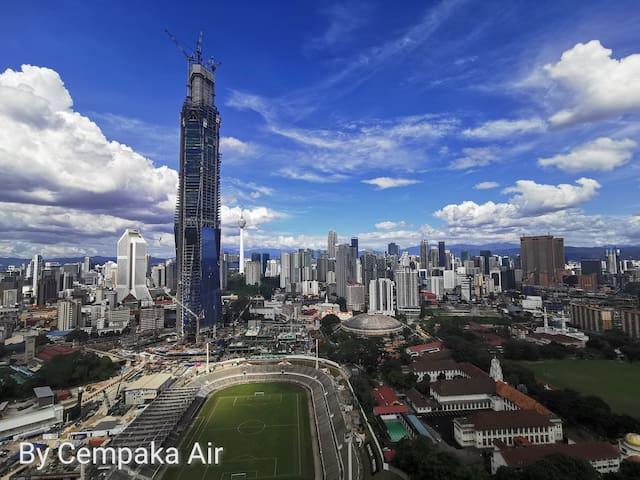 2 Bed Rooms Magnificent KLCC,KL118 View@OPUS KL