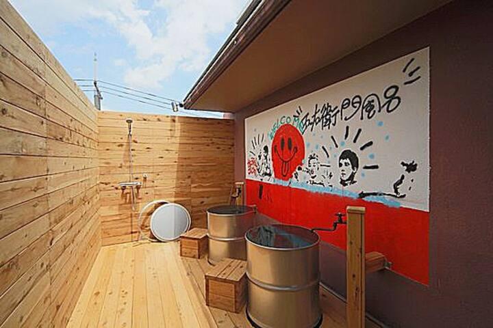 [Hotel Bushi]5min Kyobashi Sta/Cauldron Bath/WiFi