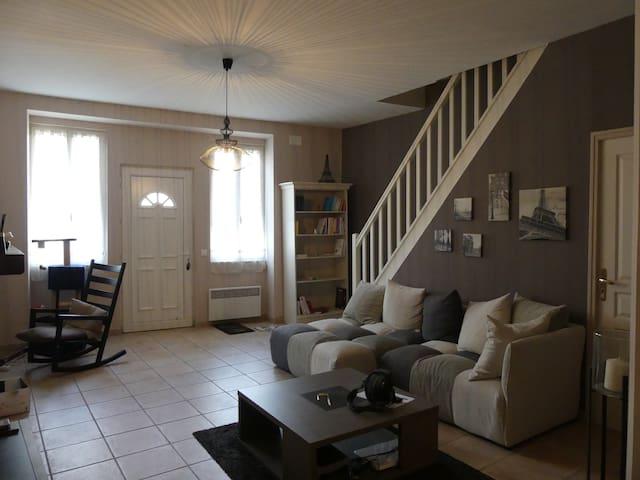 Maison à 2 pas des montagnes - Labarthe-Rivière